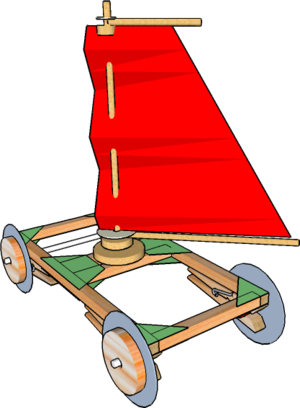 Land yacht. Powered vehicle dt online