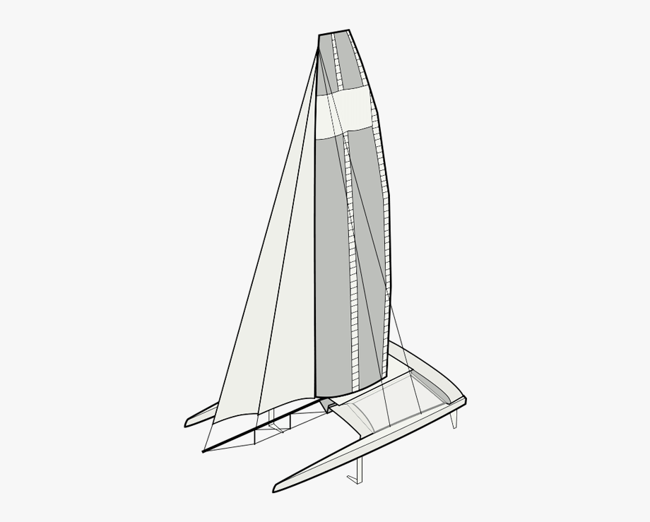 Land yacht. Sailing boats drawing at