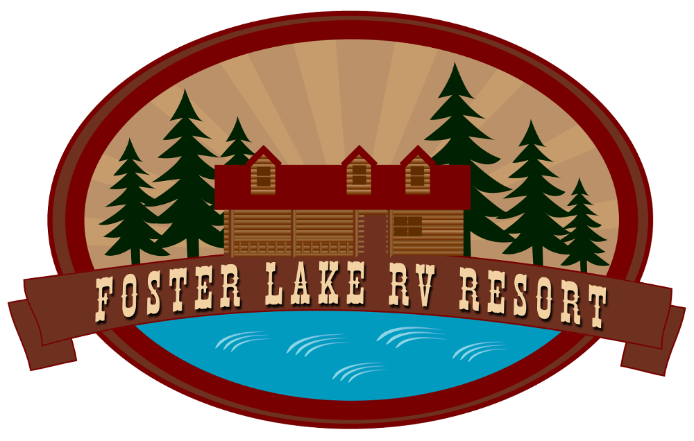 Activities clipart resort. Rv site foster lake
