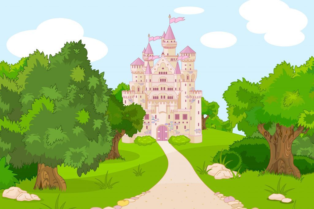 Landscape clipart castle. Lanscape poster children s