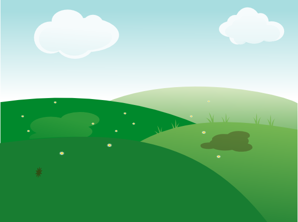 Background clip art at. Landscape clipart sky freeuse library