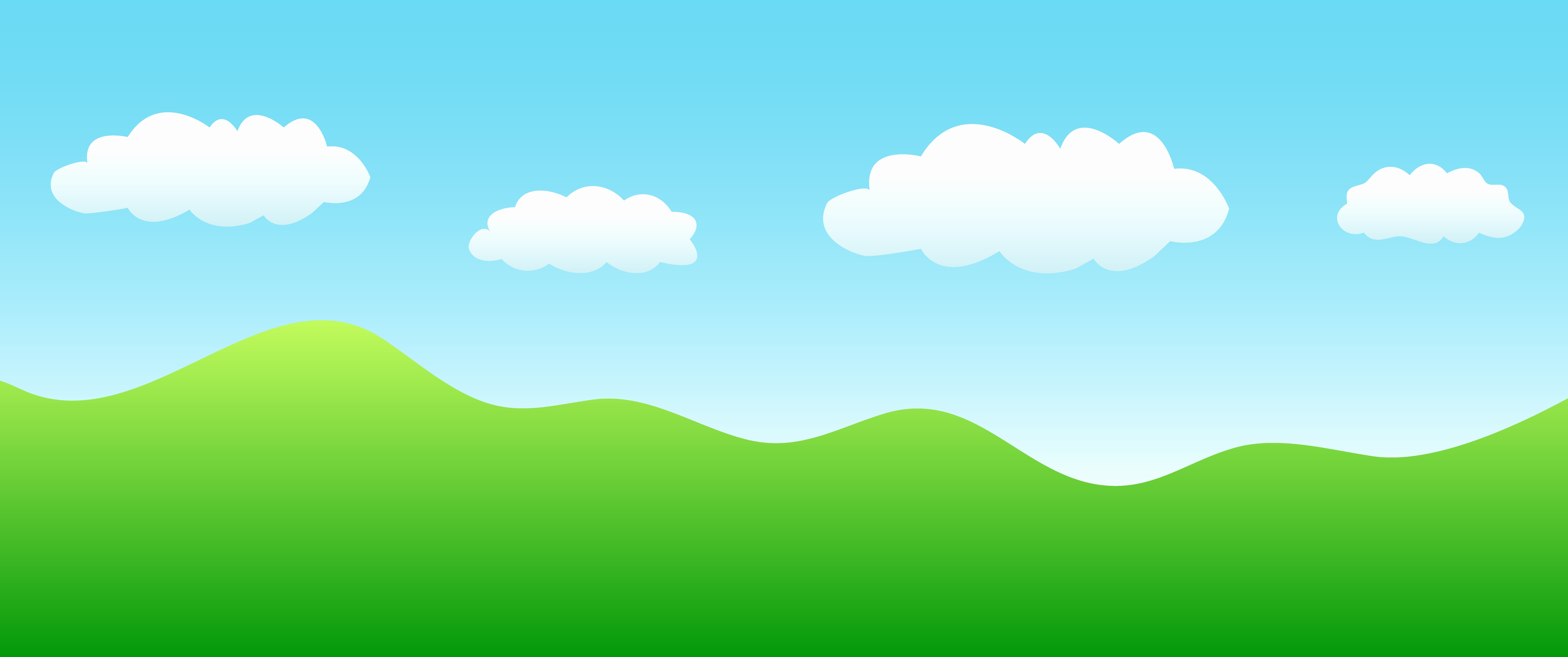 Landscape clipart sky. Picture of blue landscaping