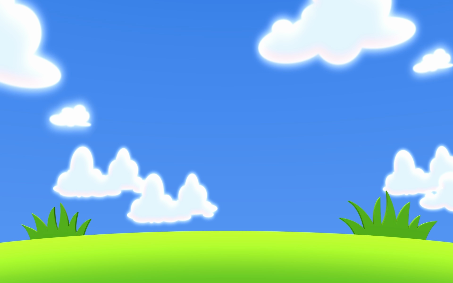 Picture of blue landscaping. Landscape clipart sky clip library stock