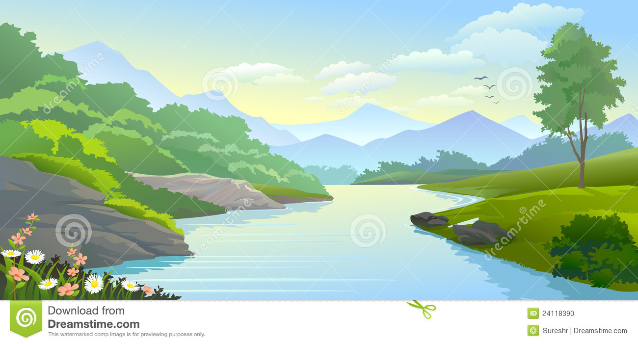 river clipart river erosion