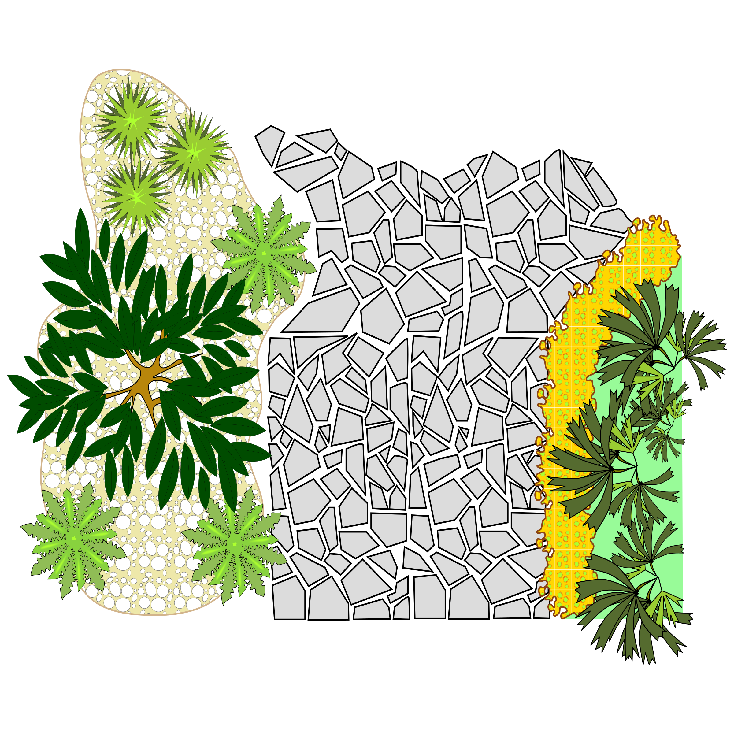 Landscaping clipart. Big image png