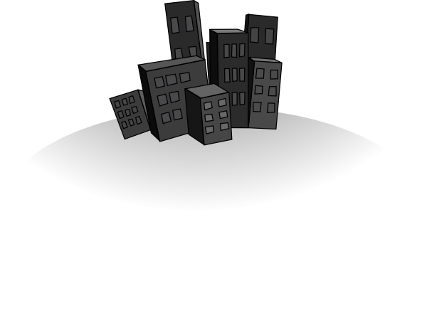 City clipart city landscape. Clip art at clker