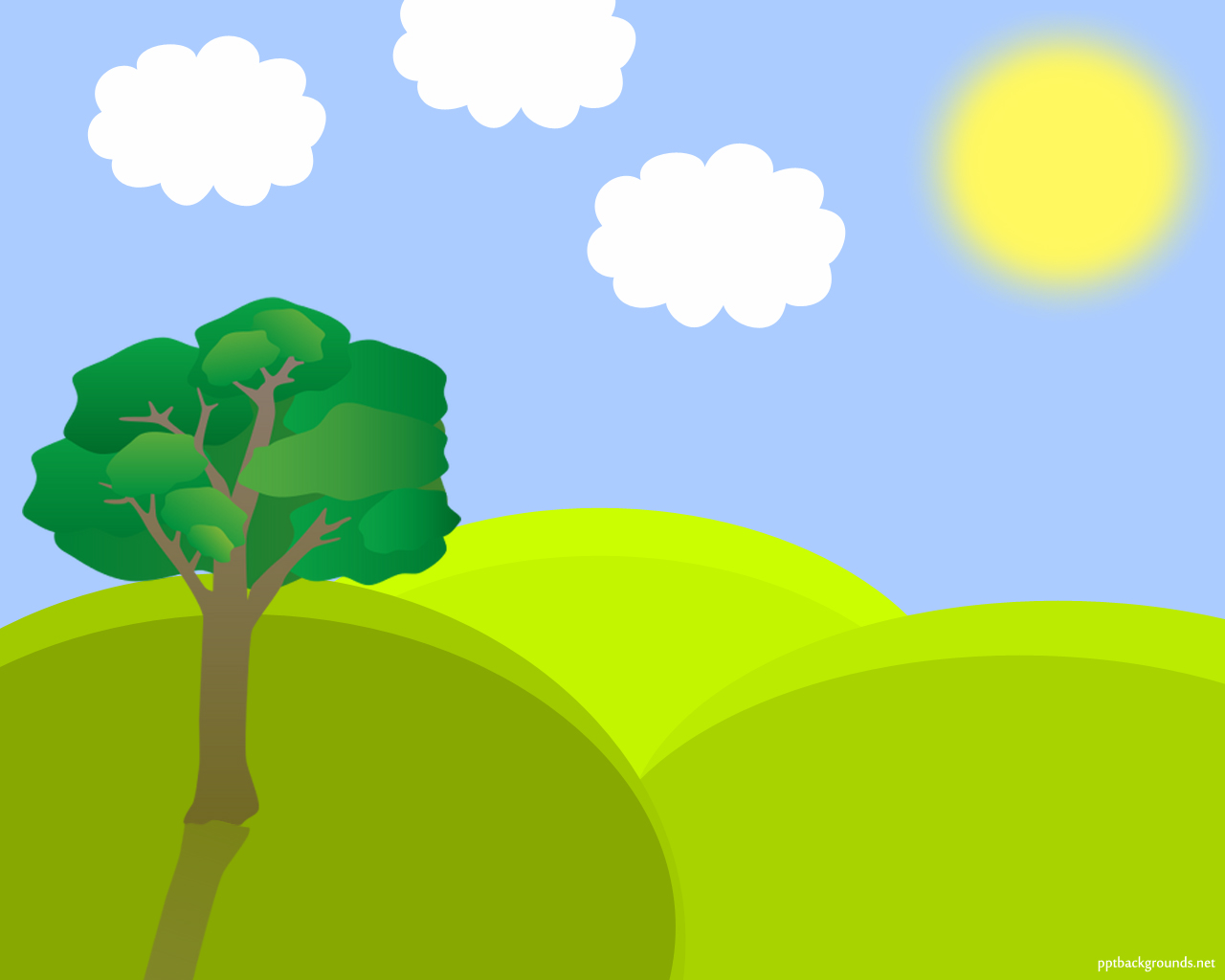 Nature clipart spring. Free landscape vector backgrounds banner freeuse download