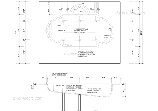 Site drawing pool