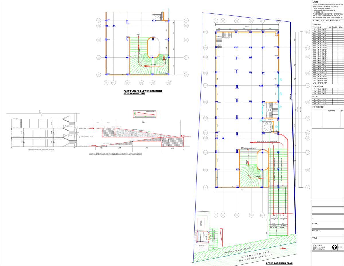 Site drawing civil engineering. Hi tech autocad designs