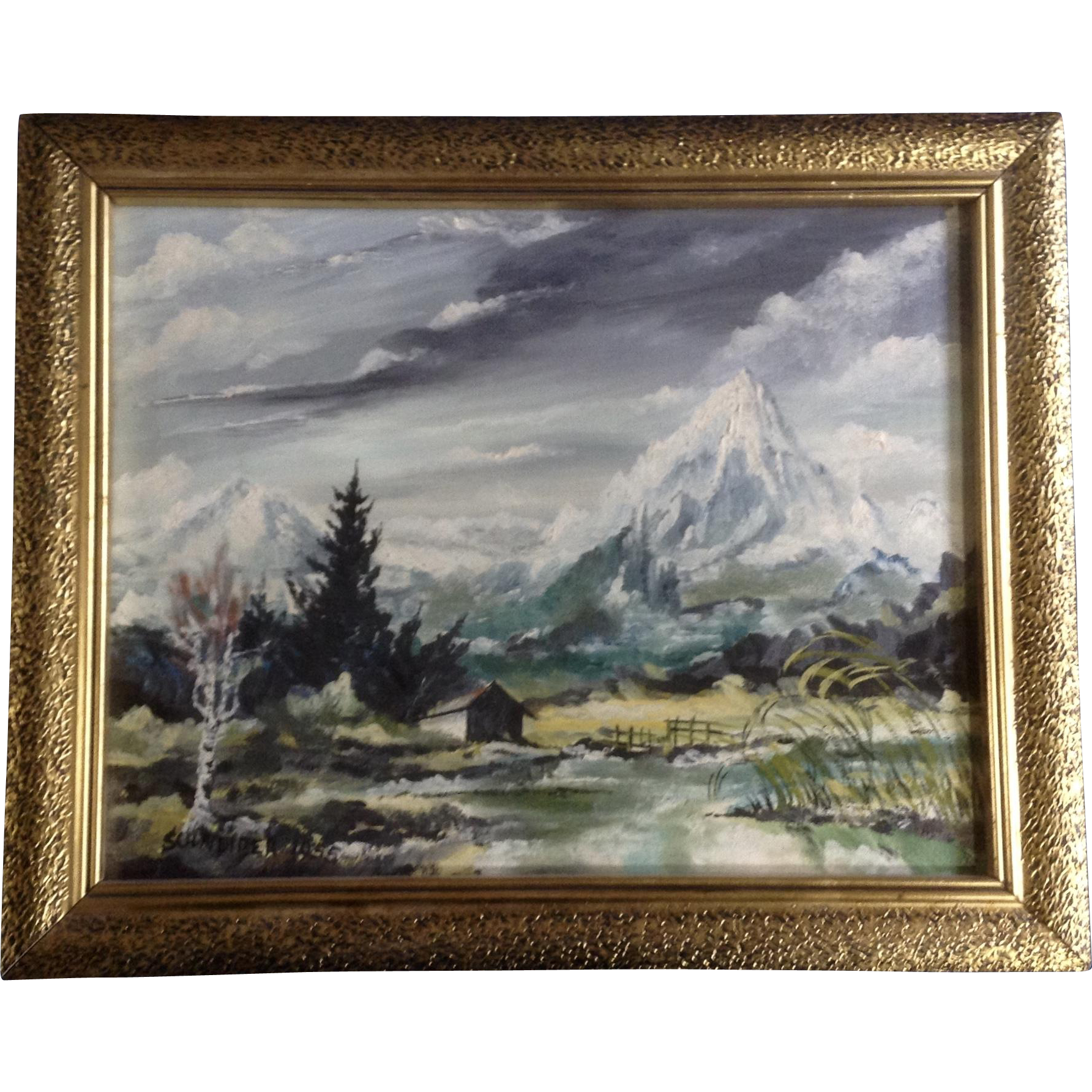 Landscaping drawing famous. Schneider die zugspitze mountain