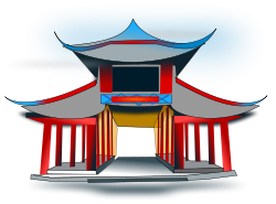 Lantern clipart china ancient. Chinese architecture png