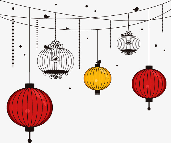 Lantern clipart simple. Japanese style png image