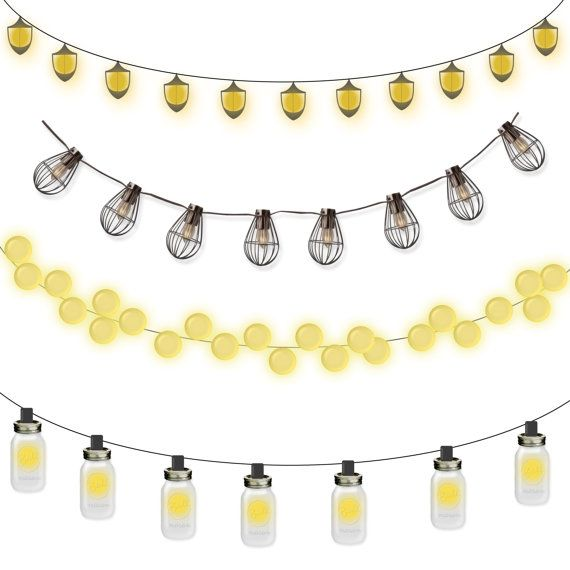 Lantern clipart string lantern. Commercial use instant download