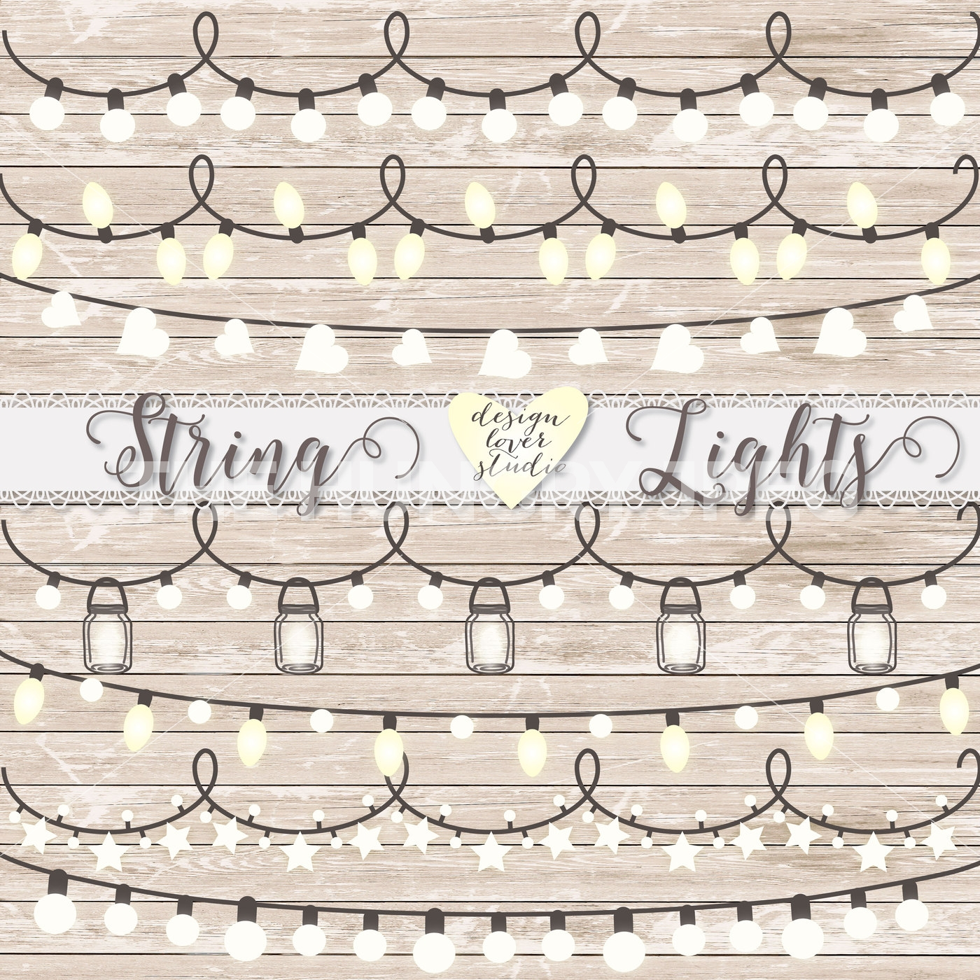 Lantern clipart string lantern. Vector premium lights wedding