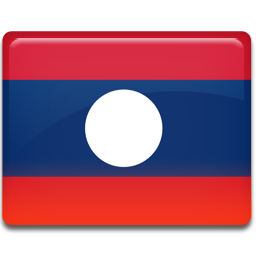 Laos flag png. Icon all country iconset