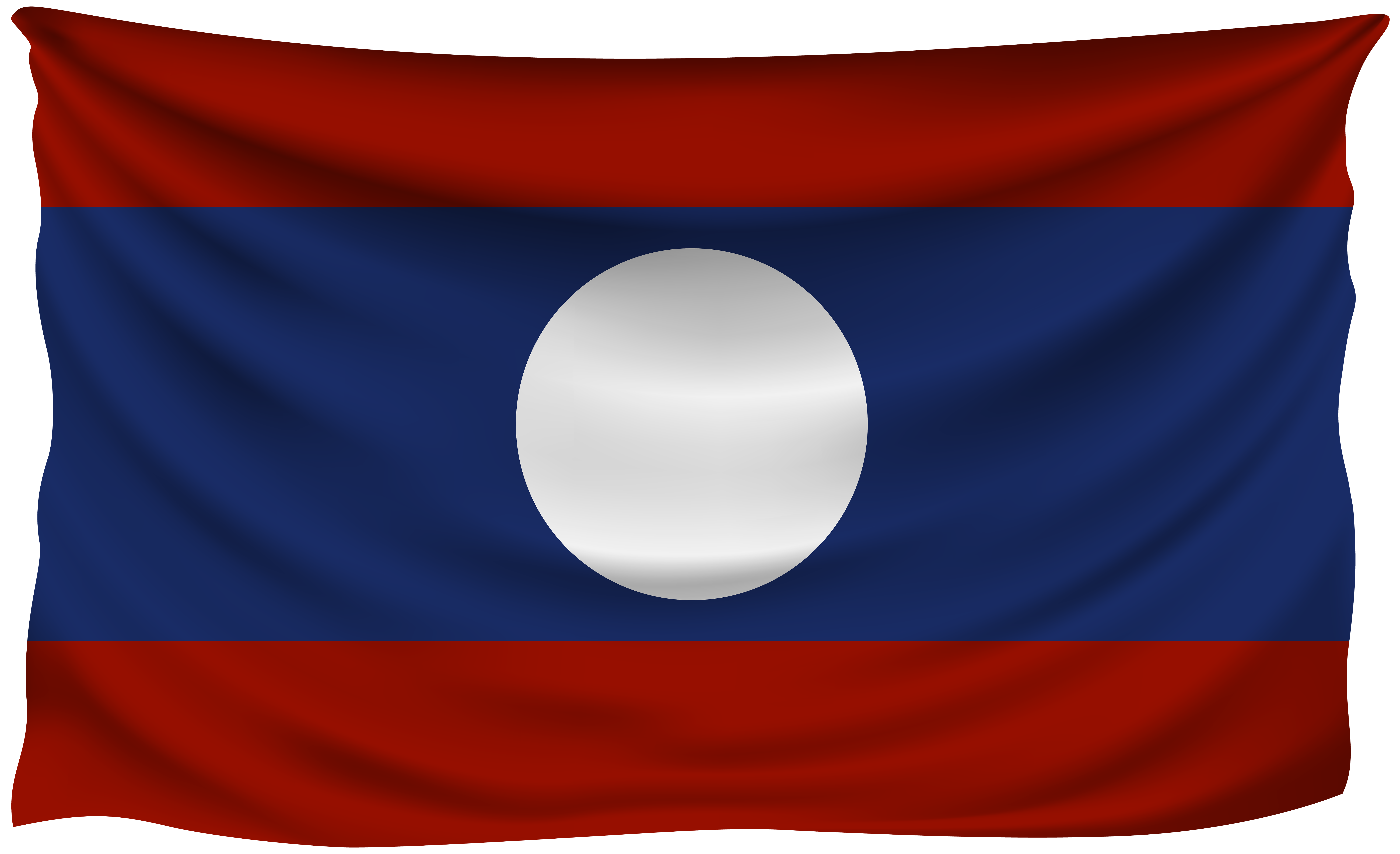 Laos flag png. Wrinkled gallery yopriceville high