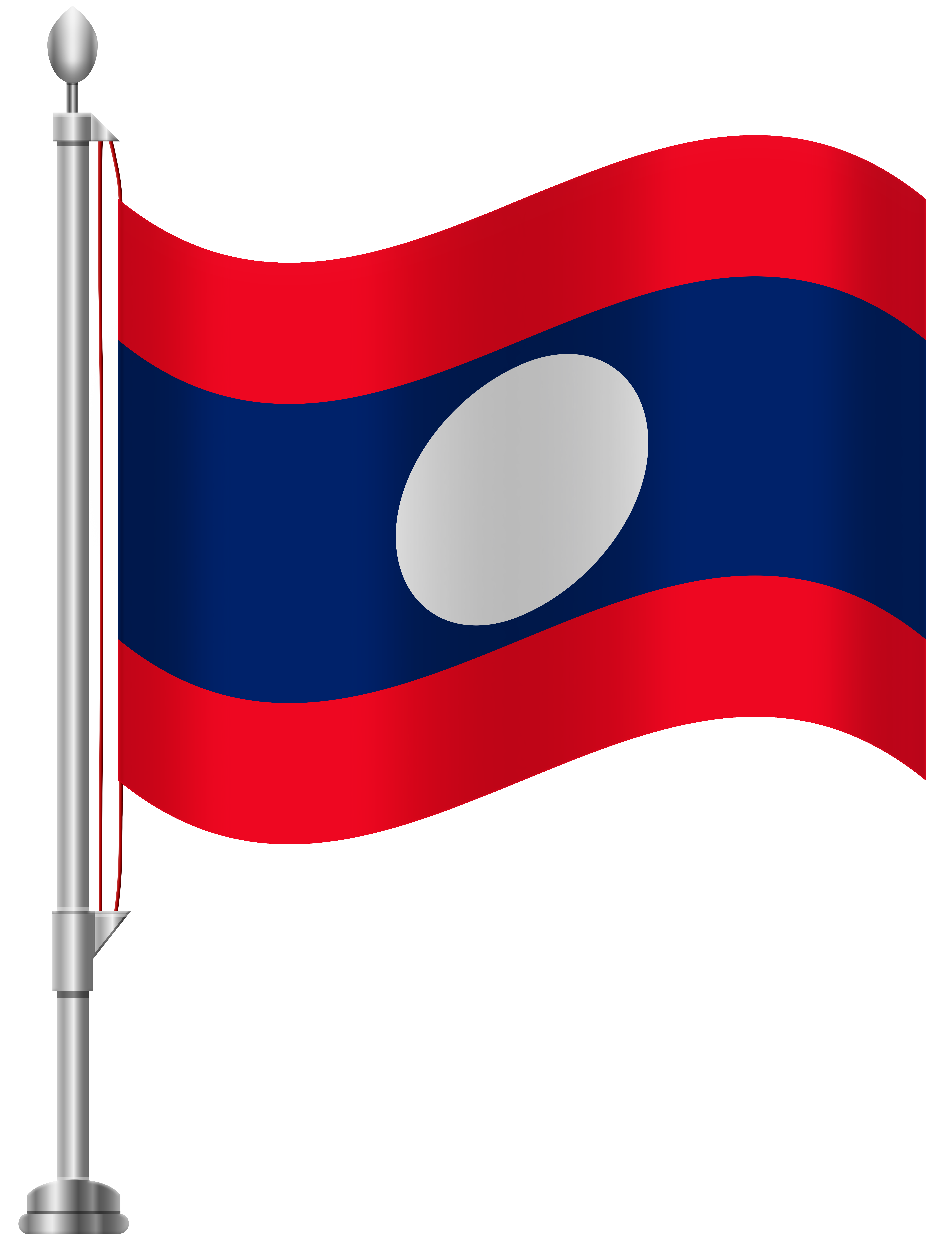 Laos flag png clip. Buddha clipart lao graphic free