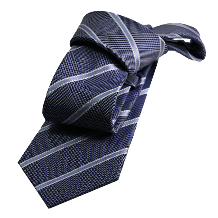 Lapel clip tie. Silk ties pocket squares