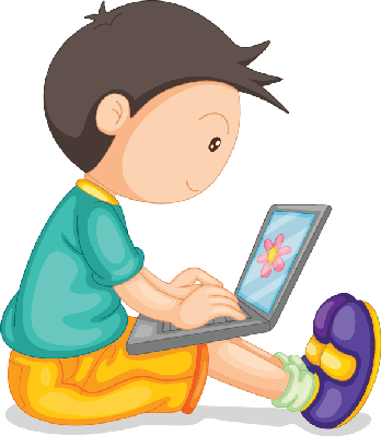 Laptop clipart boy. And the arts image