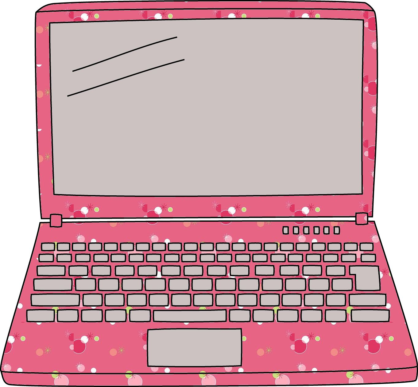 Laptop clipart pink laptop. Lappy school clip art