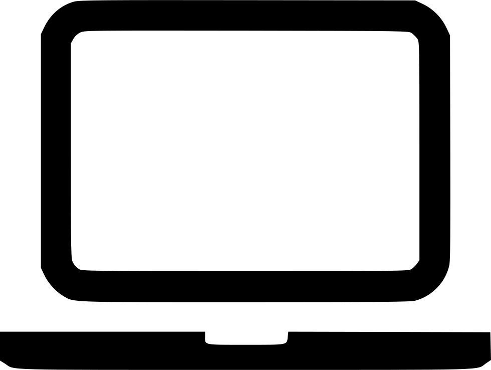 Laptop svg art png. Notebook icon free download