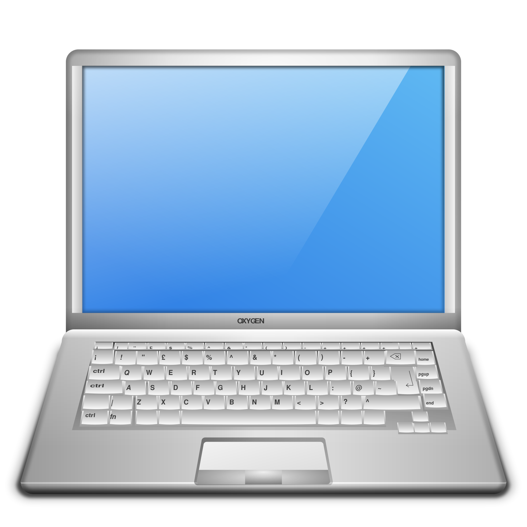 Laptop svg visio. File oxygen devices computer