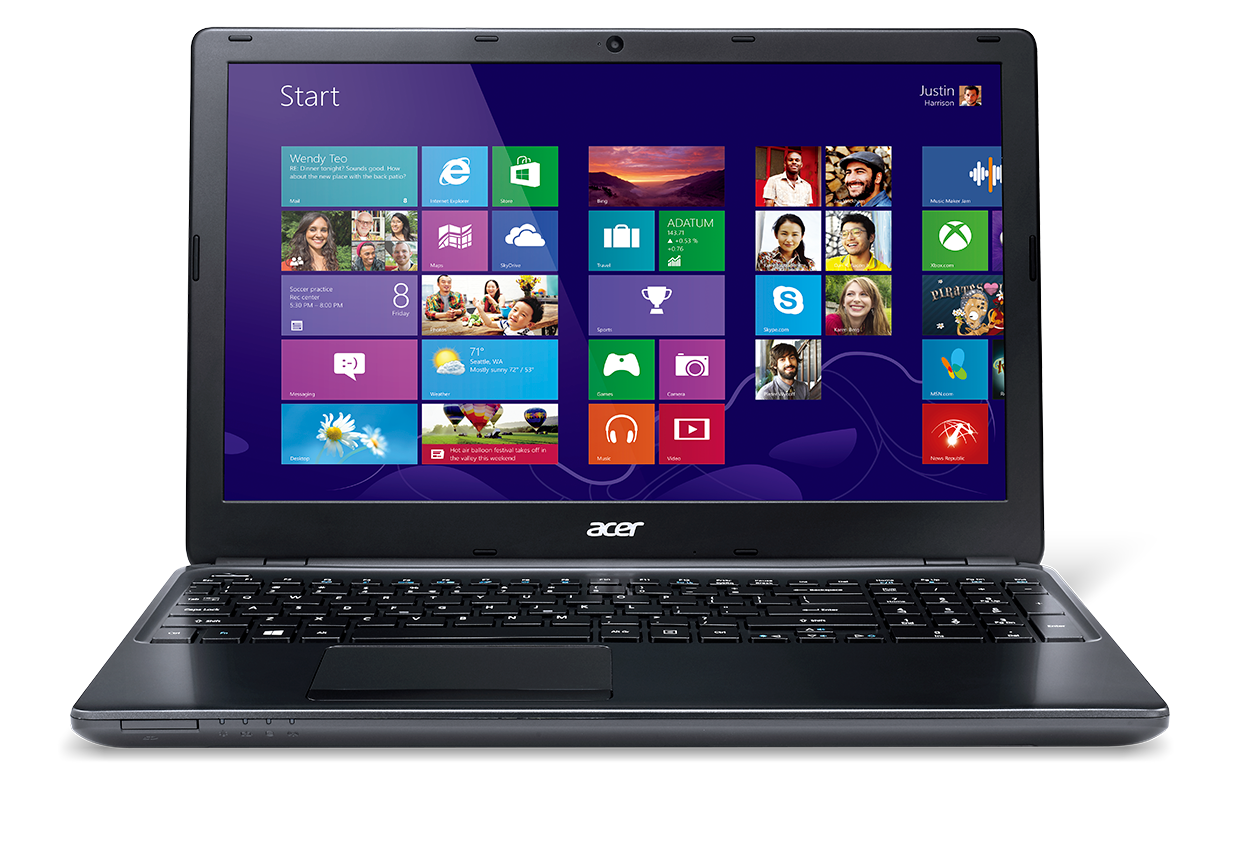 Laptop windows 8 png. Acer aspire e amd