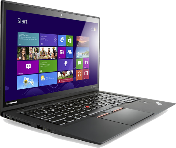 Laptop windows 8 png. The thinkpad x carbon