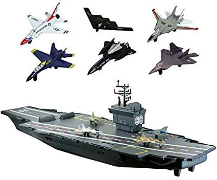 Large aircraft carrier. Motormax giant inch with