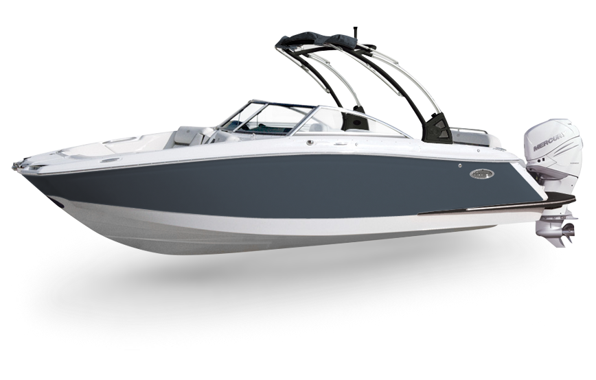 Large clip boat rail. Sc streamlined outboard