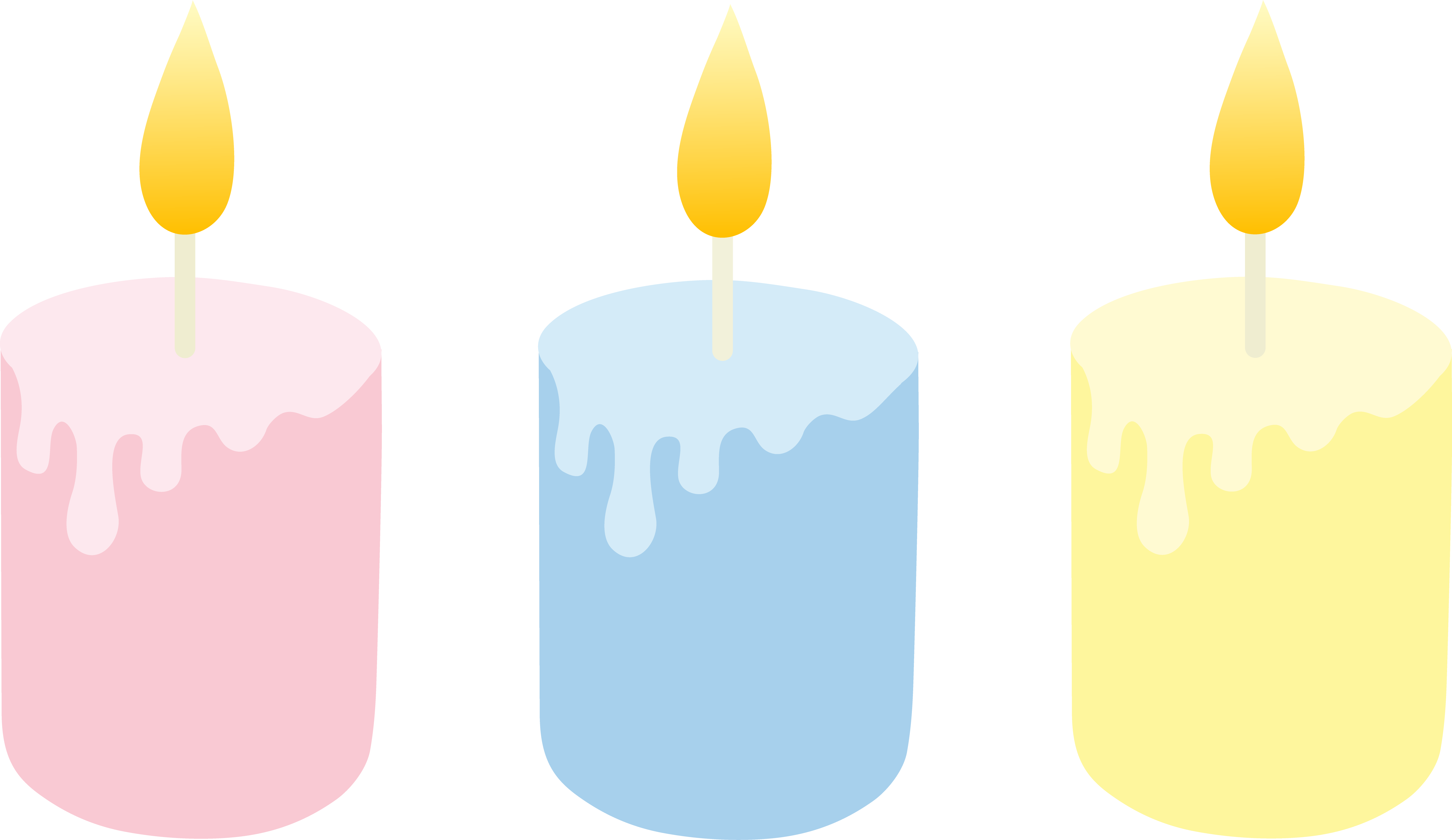 Large lit candles layout png. Clipart desktop backgrounds three