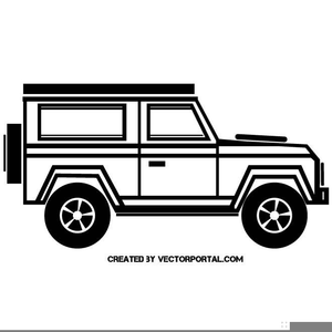 Large rover. Free clipart transportation vehicles