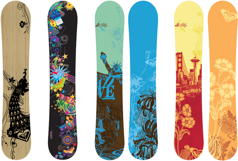 Large snowboard. Download free png clipart