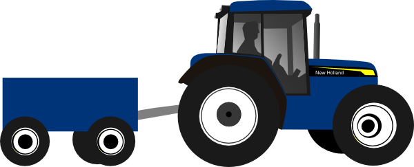 Large tractor. Clip art at clker