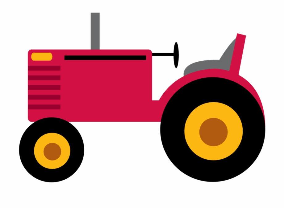 Large tractor. Download for free png