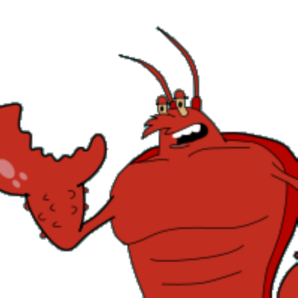 Larry lobster png. The roblox