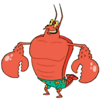 Larry lobster png. Spongebob and friends the