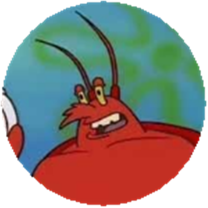 Larry the lobster png. Roblox