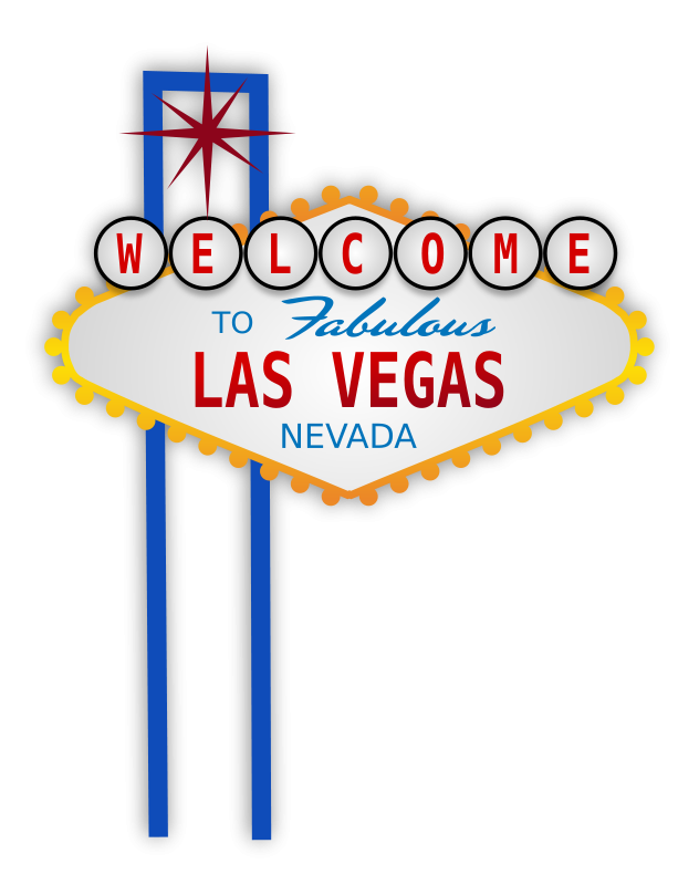 Las symbols clipart . Vegas vector symbol clipart royalty free download
