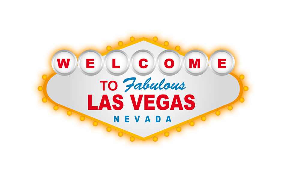 vegas vector welcome to fabulous