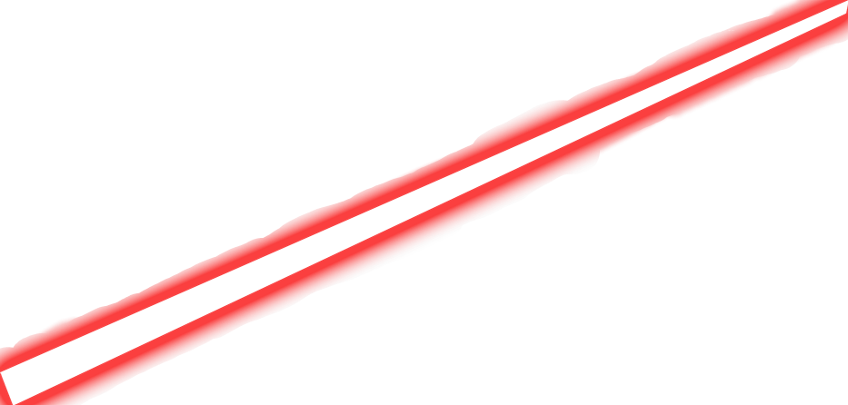 Beam image. Red laser png black and white stock