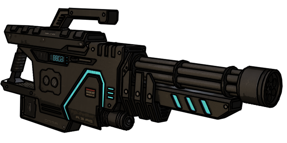 Laser gun png. Big guns transparent images
