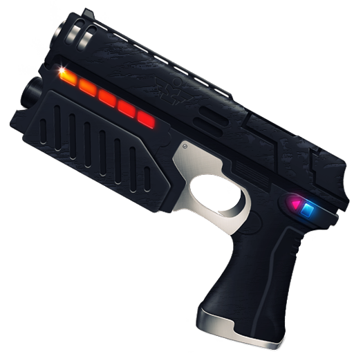 Laser gun png. The lost props by