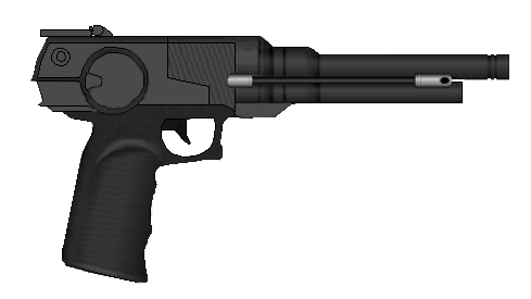 Laser pistol png. C by mastermikel on