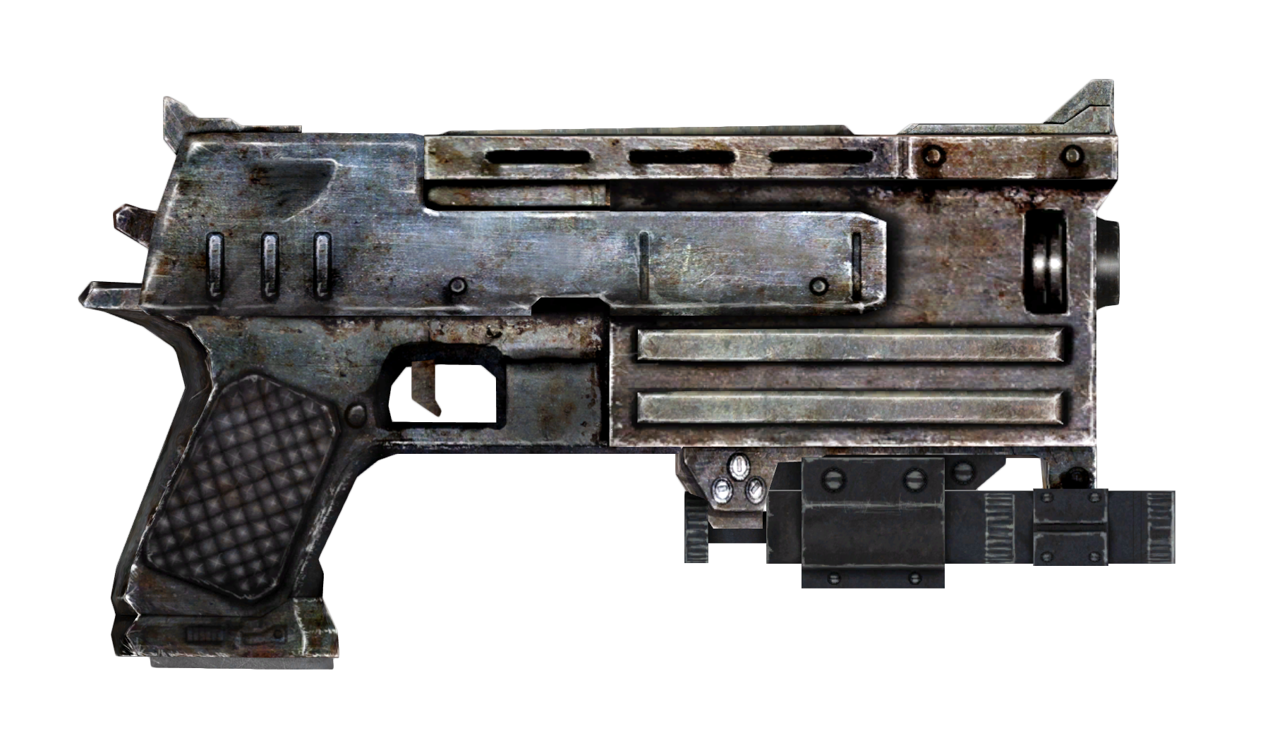 Laser pistol png. Image mm with sight