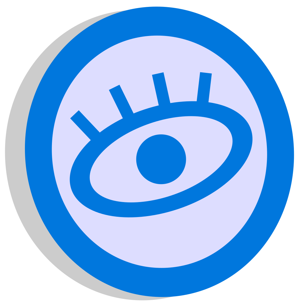 Lashes svg black and white. File symbol watching blue