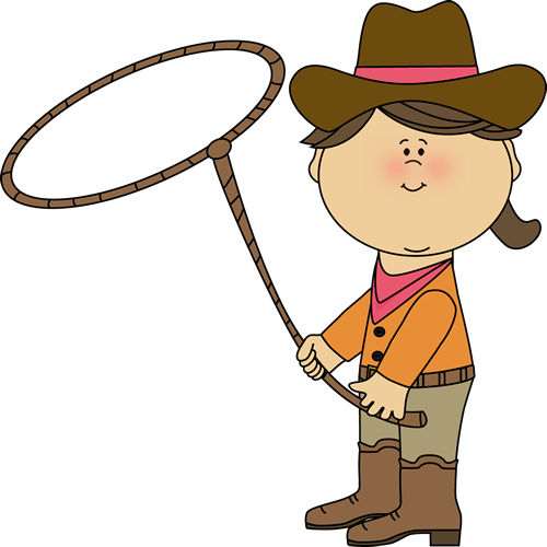 Cowgirl with a imprimibles. Western clipart lasso vector black and white download