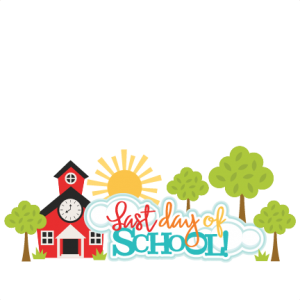 Last of clipart school. Day title available for