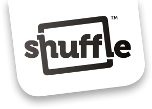 Last of clipart wordcard. Shuffle card games news