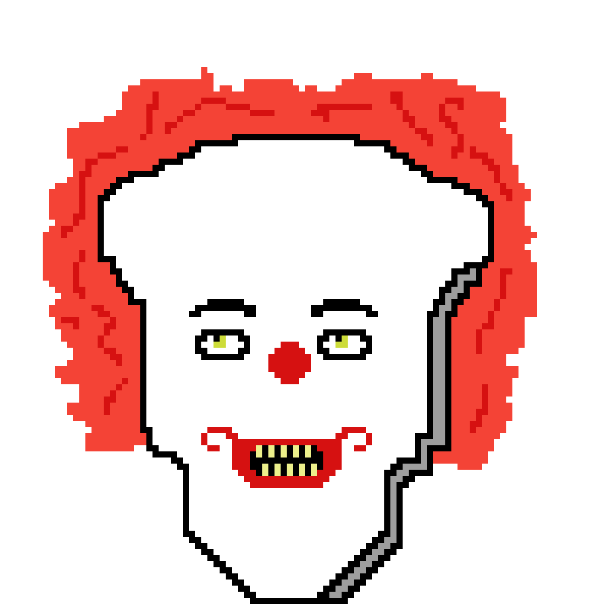 Latest drawing pennywise. Pixilart old by scoobygnu